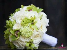 Green & White bouquet :)