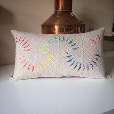Skinny Minny cushion by Kelly