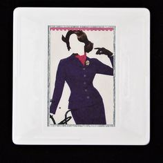 Fashion brooches - show your style with Stamp Style British Fashion, European Fashion, Great British, British Style, 1940s Outfits, Hardy Amies, Dressmaker, Savile Row, Business Fashion