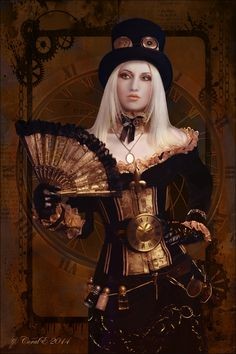 Steampunk Queen by cemac.deviantart.com on @DeviantArt