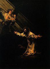Goya Jesus en el huerto de los Olivos | Flickr - Photo Sharing!