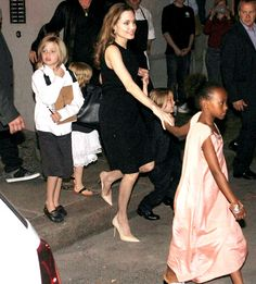 Angelina Jolie Celebrates 38th Birthday With Brad Pitt, Six Kids Over Dinner in Berlin