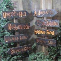 Harry Potter Choose Your Own Sign or Set by HouserHouseCreations