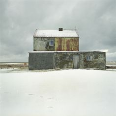 numi thorvarsson | eyðibýli 15, Iceland The corrugated and snow goes straight to the heart.
