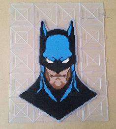Batman perler beads by delavegaarts