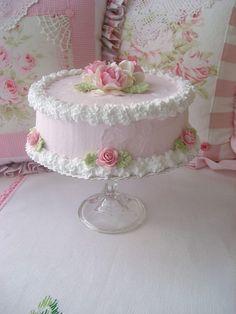 Tartas de cumpleaños - Birthday Cake - Shabby Chic cake