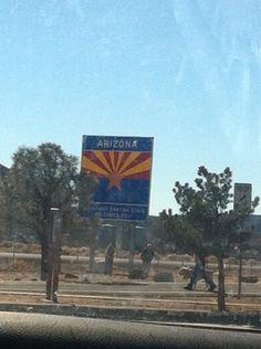Arizona entrance