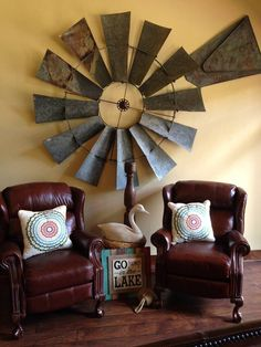 Fresh windmill ceiling fan with light kit fans view co. make windmill ceili Windmill Ceiling Fan, Windmill Wall Decor, Windmill Decor, Rustic Home Design, Rustic Decor, Farmhouse Decor, Urban Farmhouse, Industrial Farmhouse, Primitive Decor