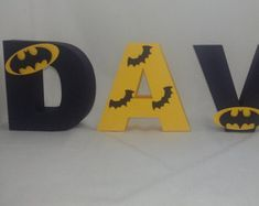 Superman Party Letters Superman Justice by SimplylettersDesigns