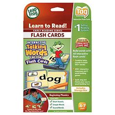 £15 LeapFrog Tag Word Building Flash Cards