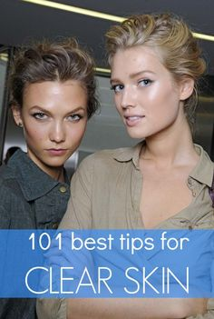 Usually I doubt that one site could have 101 legitimate skin care tips, but every one of these is simple and effective
