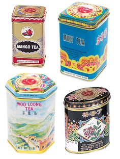 Tea tins. Just clean my kitchen from top to toe and I need tea tins.