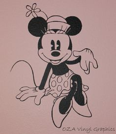 Minnie Mouse Coloring Pages, Disney Coloring Pages, Printable Coloring Pages, Coloring Books, Mickey Mouse E Amigos, Mickey E Minnie Mouse, Mickey Mouse And Friends, Mickey Vintage, Vintage Party