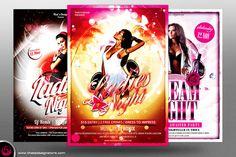 Ladies Night Flyer Bundle V1 by Thats Design Studio on Creative Market