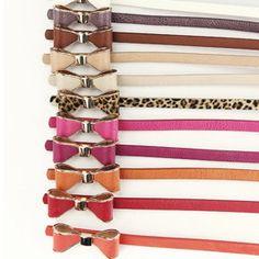 Cute Bow Belts