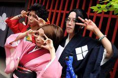 Samurai Champloo - Mugen, Fuu, Jin Cosplay
