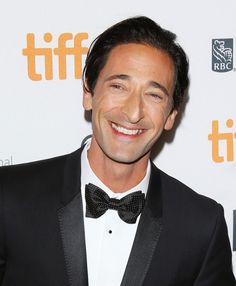 Men's grooming for the red carpet: Adrien Brody at TIFF 2013