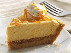 Marzetti's Old Fashioned Caramel Dip makes heavenly cheesecake even more dreamy and delicious.