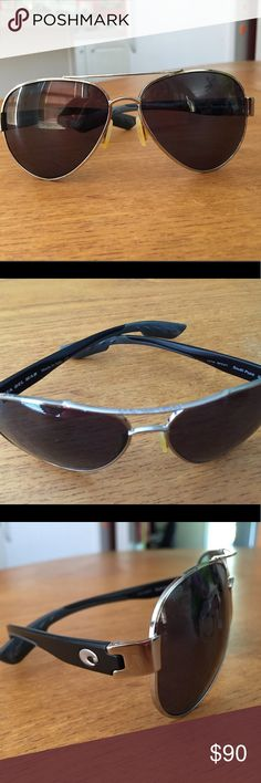 Costa Del Mar South Point Sunglasses Black and silver costa Del Mar Sunglasses Accessories Sunglasses