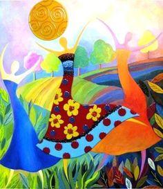 Dancers art by Anne Nye