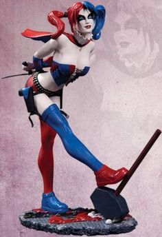 DC Cover Girls - New 52 Harley Quinn