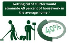 We can help you eliminate some of your housework by cutting clutter and increasing organization!