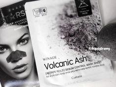 Coreana WinAge Volcanic Ash Sebum Control Mask отзыв. Volcanic Ash
