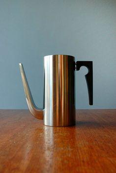 Danish Modern Stelton Cylinda Line Coffee Pot - Jacobsen
