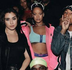Lauren & Rihanna