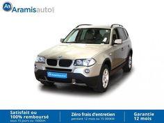 Voiture occasion BMW X3 2.0d 177ch, 13990 euros, 144755 km, année 2008, Carquefou (Loire-Atlantique 44), annonce professionnel, 4x4 - S.U.V,…
