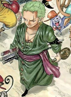 Zoro  One of my favorite character in One Piece