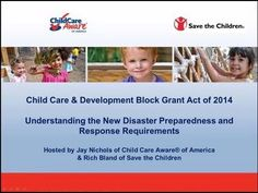 CCDBG Disaster Preparedness Webinar: Webinar to support states with their new CC… – Finance tips, saving money, budgeting planner Savings Planner, Budget Planner, Child Care Aware, Disaster Plan, Survival Blog, Save The Children, Disaster Preparedness, Finance Tips, Childcare