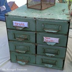 Metal files......My Salvaged Treasures: First Junking Day of 2015