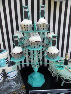 Tiffany inspiration Summer Party Ideas | Photo 13 of 24 | Catch My Party