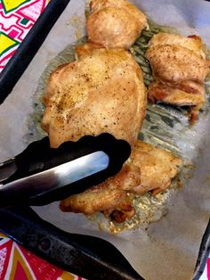 Baked Boneless Skinless Chicken Thighs Recipe