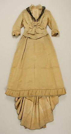 1870 Ensemble Culture: American Medium: silk