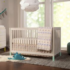 Gelato 4-in-1 Crib with Toddler Bed Conversion Kit - Project Nursery 4 In 1 Crib, Convertible Crib, Crib Mattress, Baby Grows, Sustainable Design, Baby Sleep, All Modern, Toddler Bed, Design Inspiration