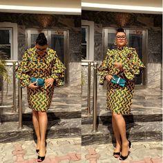 #slaying mama @mumiimaye in @mosunogunnusi custom made dress.