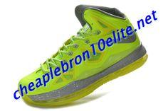 best sneakers a27b1 a9cbb Lebron 10 Volt Wolf Grey Pure Platinum Lebron James X Cheap Electric Green  541100 700