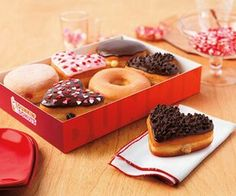 We're spreading the love with our new heart-shaped Cookie Dough Donut and with the exciting return of the Brownie Batter Donut! Sleepover Snacks, Heart Shaped Cookies, Brownie Batter, Food Platters, Food Goals, Dunkin Donuts, Cake Cookies, Cookie Dough, Sweet Treats