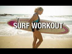 Hot Surfer 7min Beach Workout