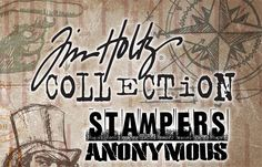 stampers anonymous stamps logo | Tim Holtz rubber stamps- does this really need to be explained?
