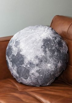 Soft Side of the Moon Pillow. Youve got your cranium in the cosmos today, flipping through photographs of the planets while reclining on this moon pillow! #multiNaN