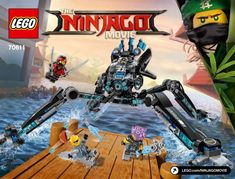View LEGO instructions for Water Strider set number 70611 to help you build these LEGO sets
