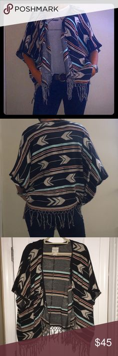 NWOT Super Rare Billabong Cardigan/Poncho NWOT Super Rare Billabong Cardigan/Poncho. This is from Billabong Designers Closet. This is the high end Billabong Boho Market. I love this open front Cardigan/Poncho, but I have so may and I need to let some go. This is a size L, I am modeling it and I am an XS. So this fits a range of sizes. Offers accepted, most accepted on first offer! Make it a bundle with other items from my closet! 2 items = 30% off!! Everything must go and the bundle sale…