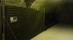 A handful of Champagnes for future consumption at Guy de Forez