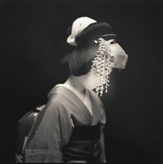 Four striking photo series from Japan link theatricality and portraiture, revealing the undeniable connection between appearance and performance.  © Hiroshi Watanabe