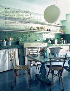 seaglass kitchen