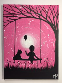 I wish I may 289 9 x 12 acrylic on canvas by MichaelHProsper