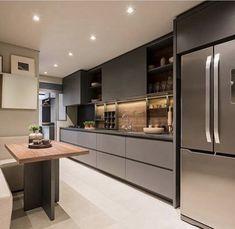 Modern Luxury Kitchens For A Grand Kitchen Modern Luxury Kitchens For A Grand Kitchen Luxury Kitchen Design, Kitchen Room Design, Kitchen Cabinet Design, Luxury Kitchens, Home Decor Kitchen, Kitchen Living, Interior Design Kitchen, Kitchen Furniture, Home Kitchens